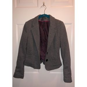 Jersey fitted blazer